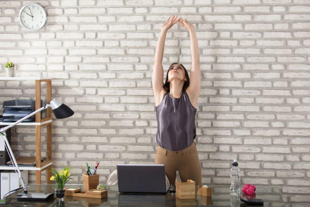 Santé : la gym au travail c'est facile ! 1