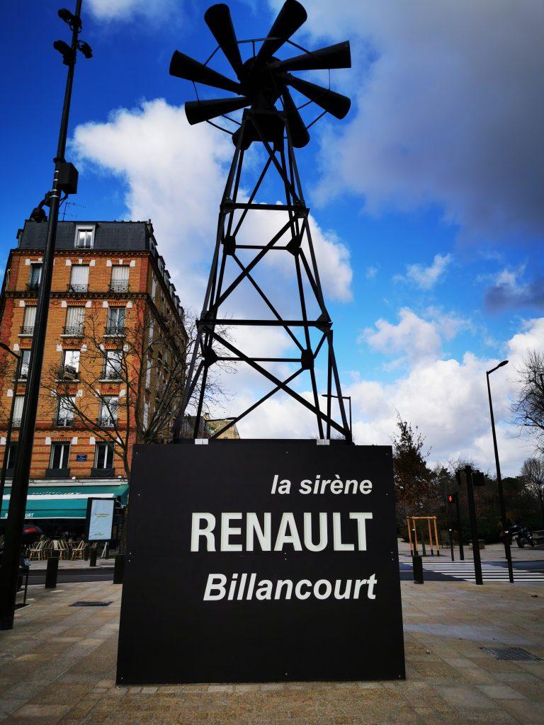 L'emblématique sirène des usines Renault réintègre la place Jules Guesde 1