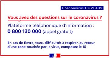 Coronavirus, Mobilité Mutuelle vous informe 2