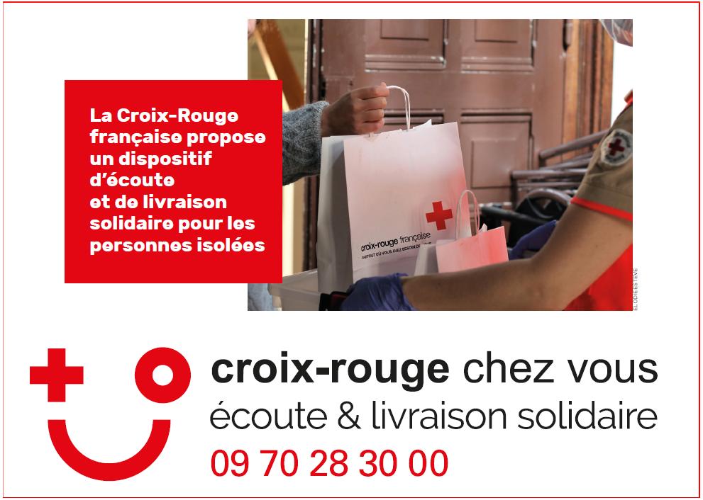 COVID-19 : « Croix-Rouge chez vous » livraison de médicaments sur ordonnance 1
