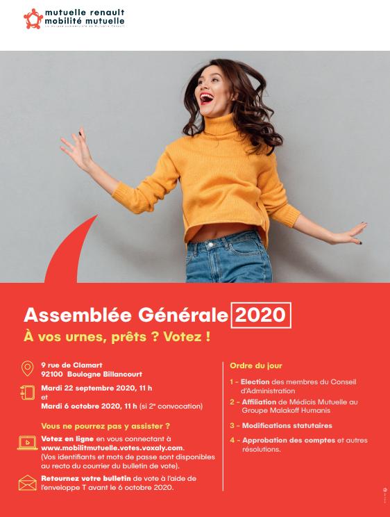 Assemblée Générale Mutuelle Renault - Mobilité Mutuelle 1
