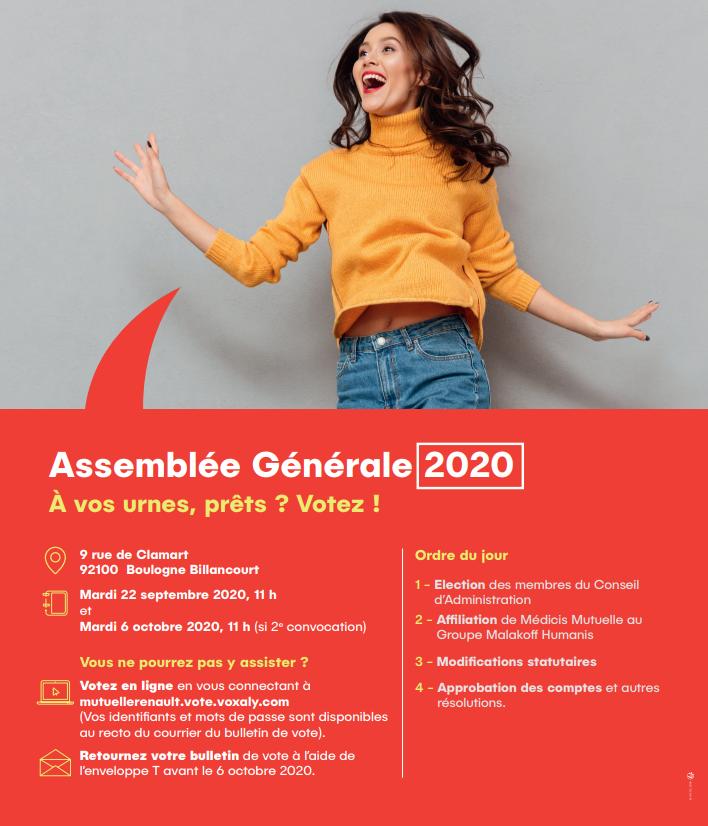 Assemblée Générale Mutuelle Renault - Mobilité Mutuelle 2020 1